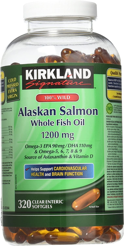 Kirkland Signature 100% Wild Alaskan Sal…