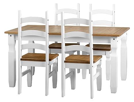 Sedie Bianche E Legno : Tavola e sedie di legno bianche immagine stock immagine di