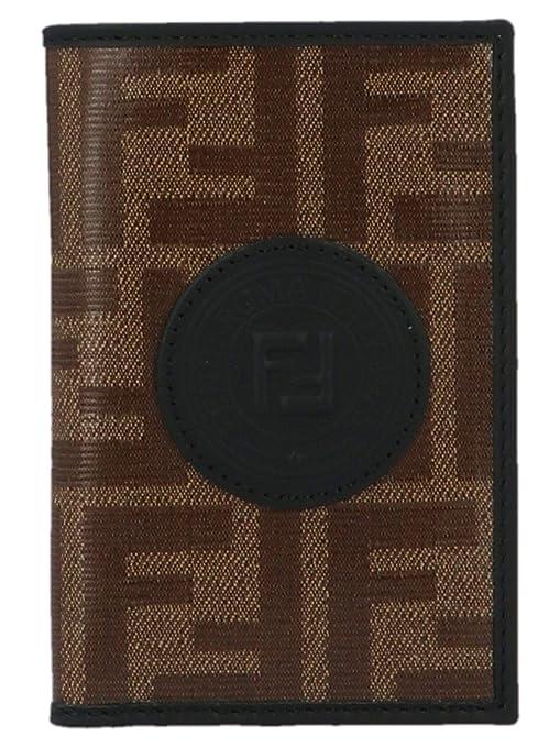 8e9b6501 Luxury Fashion | Fendi Mens 7M0262A5K4F17PZ Brown Card Holder | Fall ...