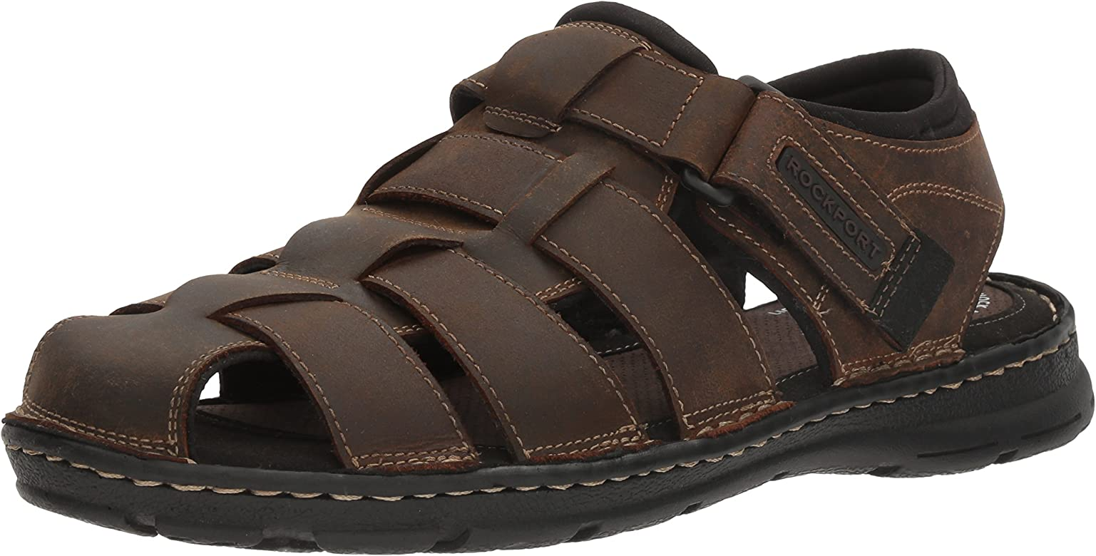 02d8216c3046 Rockport Men s Darwyn Fishermen Sandal