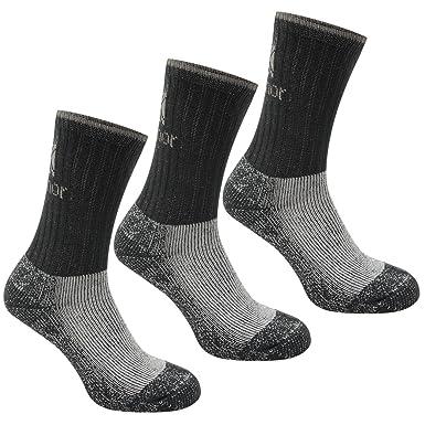 Karrimor Mens Heavyweight Boot Socks Trekking Medium Cushion 3 Pairs ... 4af5f0fea1c