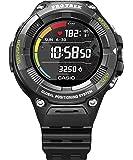 [カシオ] 腕時計 スマートアウトドアウォッチ プロトレックスマート 心拍計測機能 GPS搭載 WSD-F21HR-BK メンズ ブラック