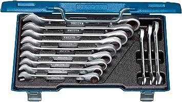 Schraubenschlüssel Set 12tlg 8-19mm Maulschlüssel Ratschenschlüssel Schlüssel