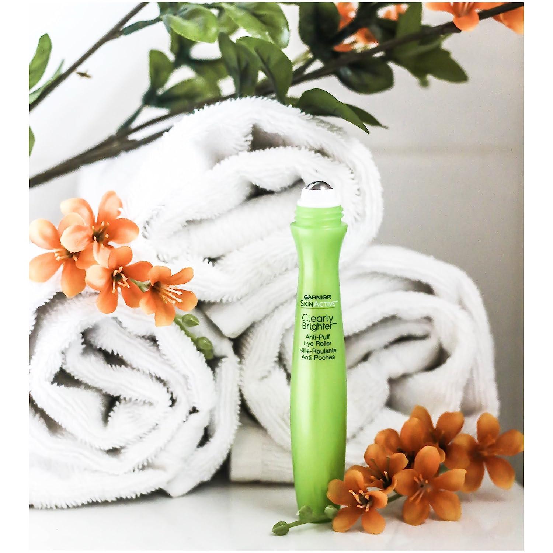 Garnier SkinActive Clearly Brighter Anti-Puff Eye Roller, 0.5 fl. oz. Eminence Organic Skin Care Eminence Pear and Green Apple Sugar Scrub 8.4 oz
