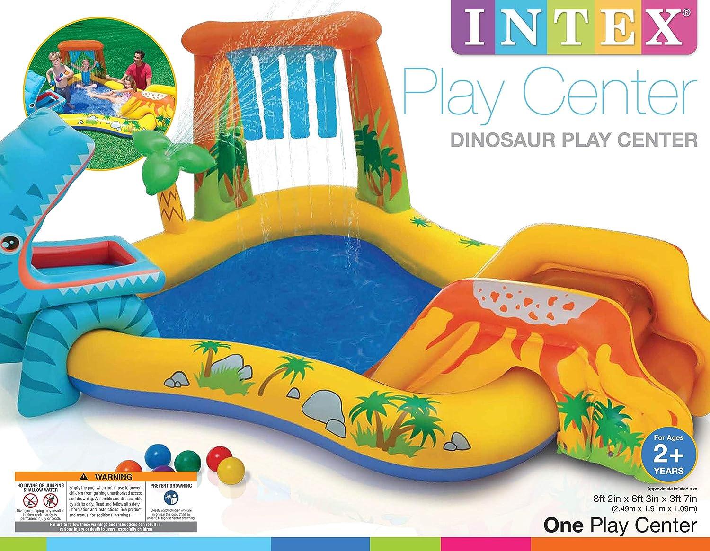 Amazon.com: Intex Dinosaur Play Center - Conjunto inflable ...