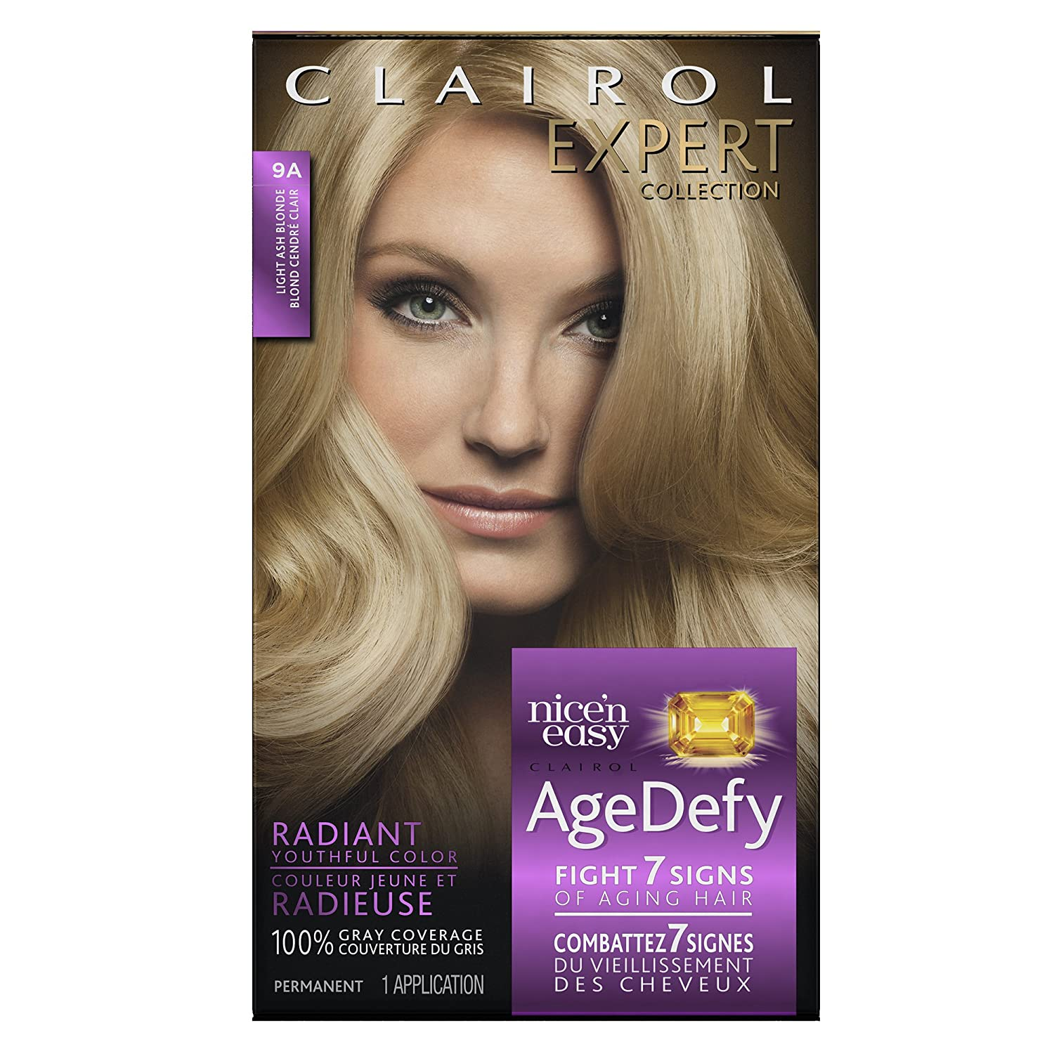 Amazon Clairol Age Defy Expert Collection 9A Light Ash