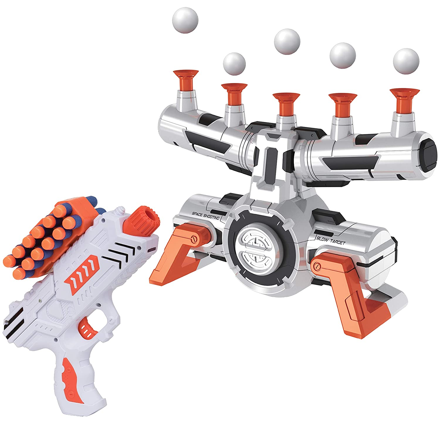 graphic regarding Nerf Gun Targets Printable identify United states Toyz Appropriate Nerf Aims for Capturing - AstroShot Zero G Floating Orbs Nerf Aim Train with Blaster Toy Guns for Boys or Gals and Foam