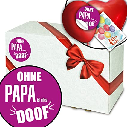 Ohne Papa Ist Alles Doof Geschenkbox Basteln Geschenke