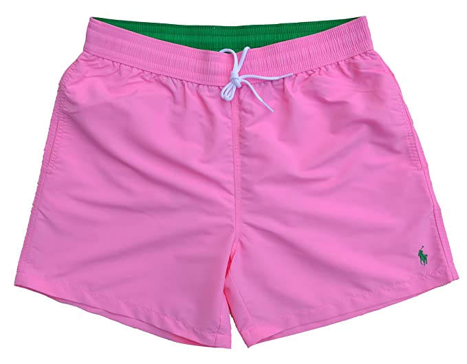 611df848cc58 ... buy ralph lauren mens swimming shorts pink pink pink large 9b236 e1640  promo code for ...