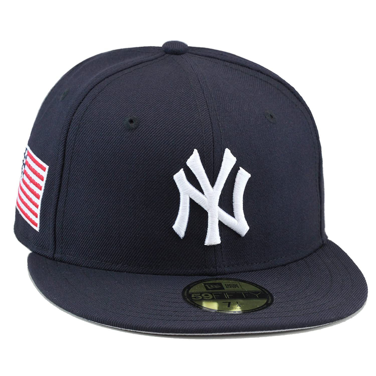 6a778b62e94a0 best price new era new york yankees fitted hat navy usa us american flag  yankees a0ed1