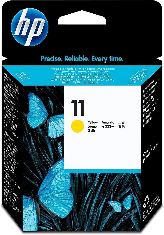 HP C4813A - Cabezal de impresión HP 11, amarillo: Hp: Amazon.es ...