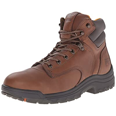 """Timberland Pro Men's Titan 6"""" Coffee Soft-Toe Boot: Shoes"""