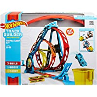 Hot Wheels GLC96 Track Builder Triple Loop Stunt Loops 1:64 scale Vehicles