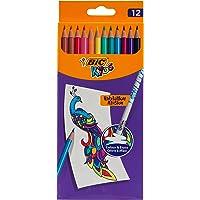 BIC Kids Evolution Illusion renkli kalemler, silinebilir, farklı renkler, 12 adet