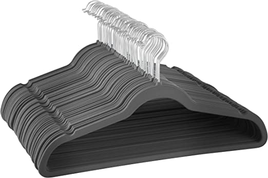 Premium Quality Space Saving Velvet Hangers Strong and Durable