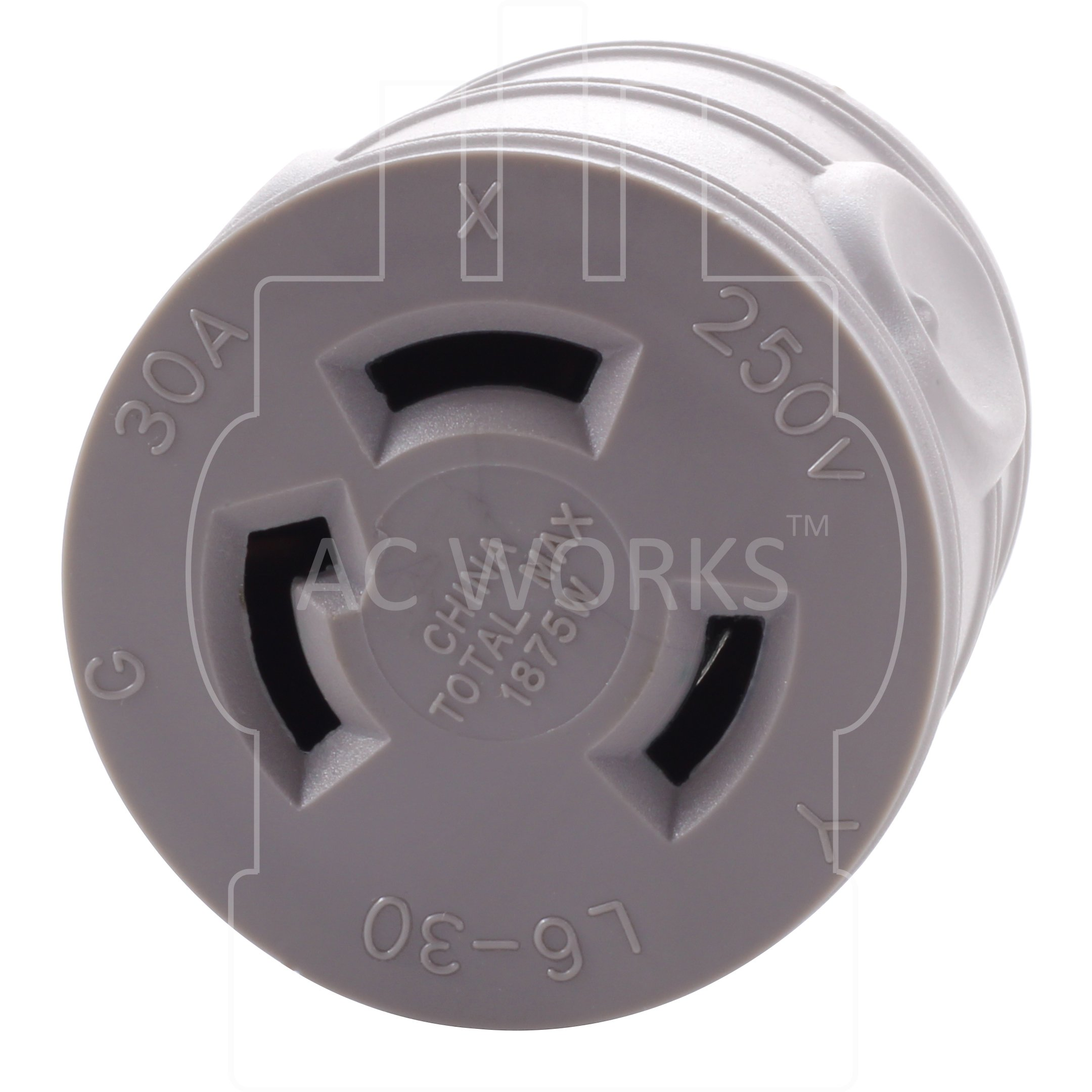 AC WORKS [EV515L630] EVSE Upgrade Electric Vehicle Charging Adapter 15Amp Household Plug to L6-30R Female Connector by AC WORKS (Image #4)
