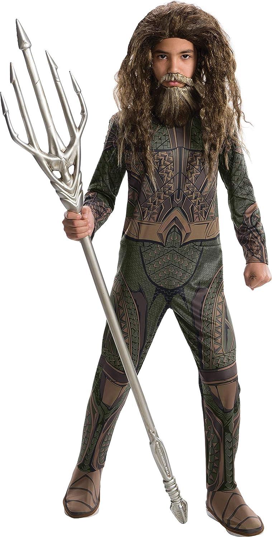 Rubie 's producto oficial de DC Liga de la justicia Aquaman, los niños disfraz