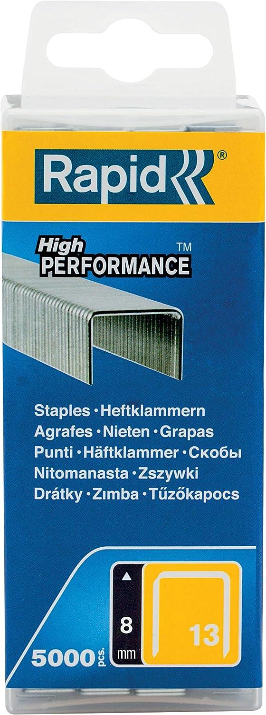 No.53 11857050-5000 Pièces Rapid Haute Performance Staples Jambe Longueur 8 mm