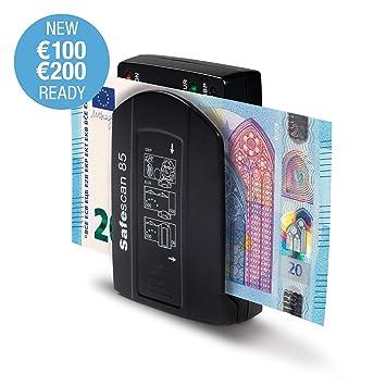 Safescan 85 - Detector portátil automático para billetes de Euro y Libras esterlinas: Amazon.es: Oficina y papelería