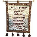 Nana gifts The Lord's Prayer Wall Hanging Velvet