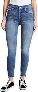 product image for MOTHER Women's The Stunner Zip Ankle Step Fray Jeans