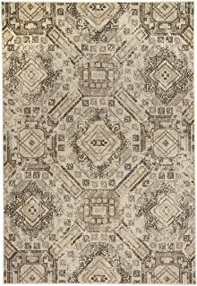 """product image for Channel Beige 7' 10"""" x 10' 10"""" Rectangle Machine Woven Rug"""