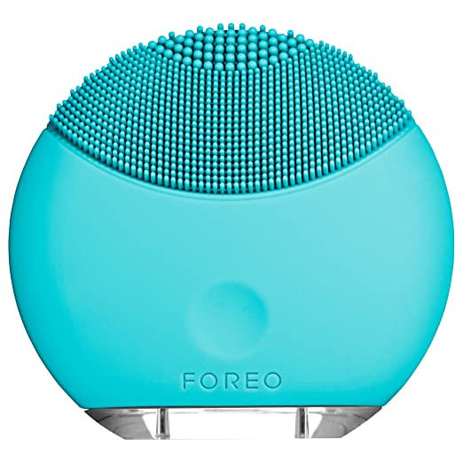 FOREO LUNA mini Silicone Face Brush with Facial Cleansing for All Skin Typeso best face cleansing brush