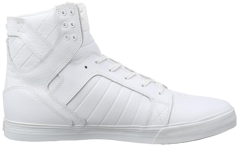 Supra Skytop Skate Shoe B011JITE08 7 M US|White-white