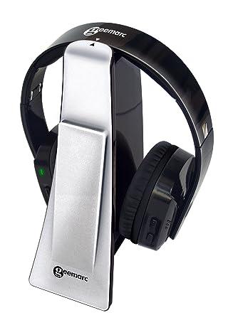Geemarc CL7400 - Auriculares inalámbricos, Color Plateado: Amazon.es: Electrónica