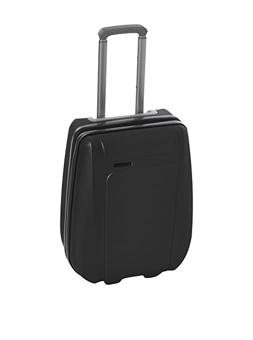 7ca2c243d5c15c Piquadro Ultra slim, cabin size, hardside trolley. Compatible with budget  airlines Odissey BV2507OY/NGRO: Amazon.ca: Luggage & Bags