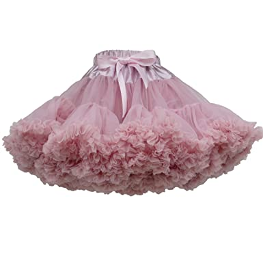 b758b0fa09 Little Bo Peep Dusky Pink Pettiskirt tutu (2-4 yr): Amazon.co.uk: Clothing
