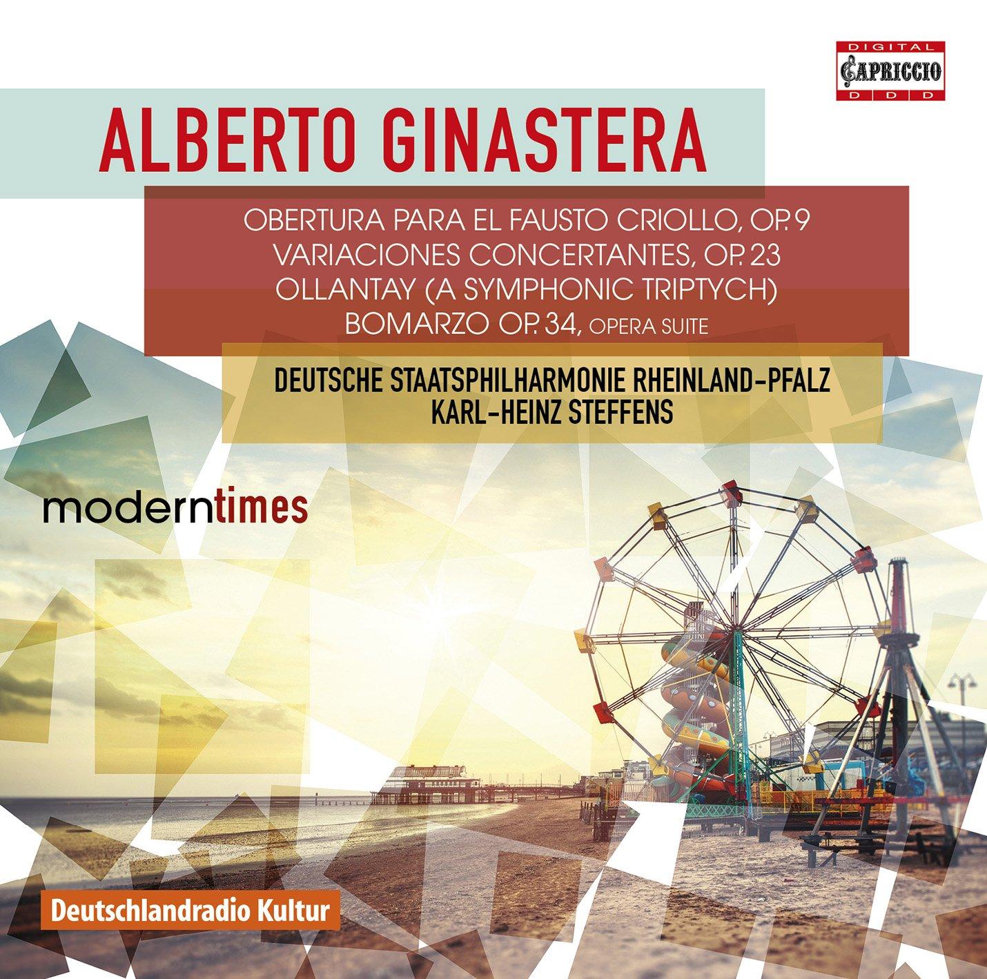 Alberto Ginastera: Orchestral Works by Capriccio