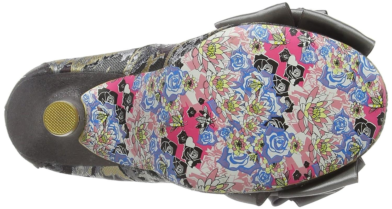 Irregular Choice Schwarz Damen Ascot Pumps, Schwarz Choice Grau (Grau U) aeef70