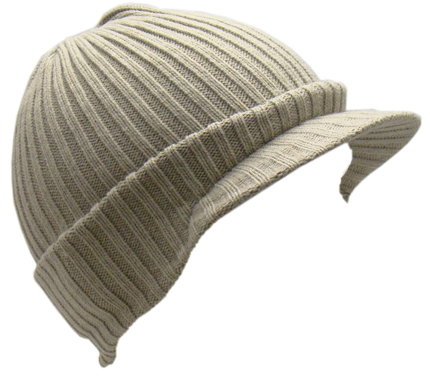 3038115e2bdc8 Men's Bickley & Mitehell Chunky Knitted Peak Beanie Hat Quality 100 ...