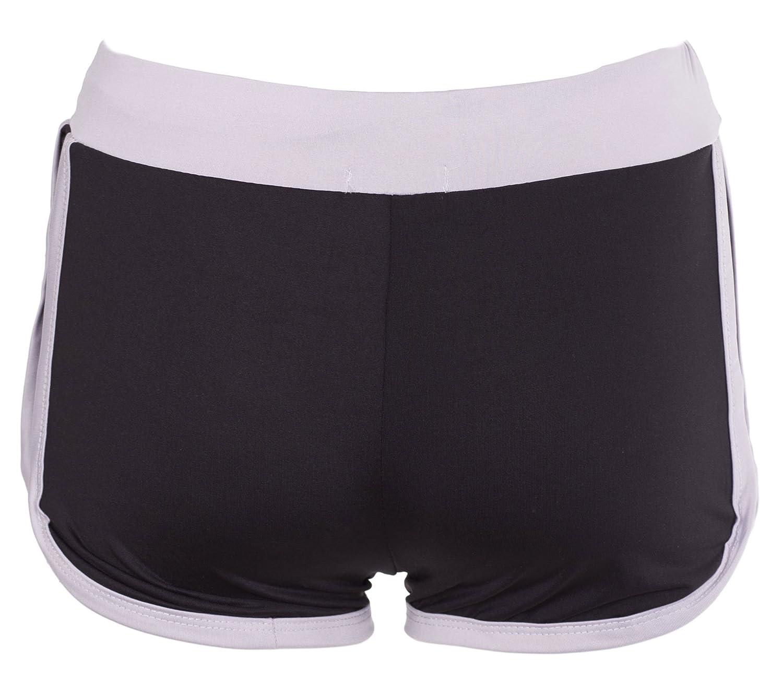 NOROZE Girls New York Print Drawstring Hot Pants Runner Shorts Age 7-13 Years