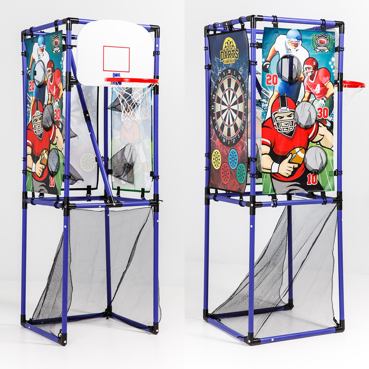 Sport Squad 5-in-1 Multi-Sport Kid's Game Set – Features Baseball, Basketball, Football, Soccer, Darts – Great for Indoor and Outdoor Play by Sport Squad (Image #2)