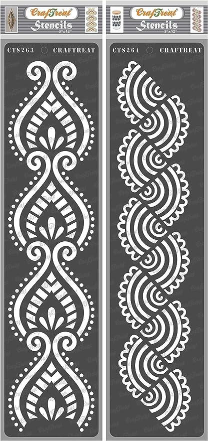 Stencil for Painting Stencil Glass DIY Stencil Craft Stencil Vinyl Stencil Fabric Pattern Stencil Wall Stencil,Decor Stencil Canvas