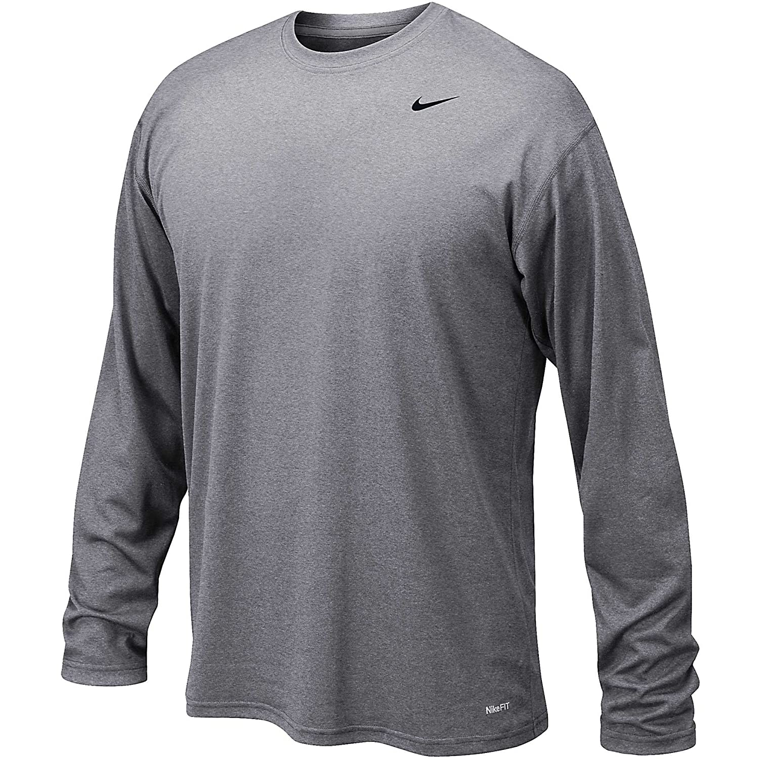 Amazon.com  Nike Mens Legend Poly Long Sleeve Dri-Fit Training Shirt Game  Royal Blue Black 377780-063 Size Small  Sports   Outdoors c9c7f13ee6af