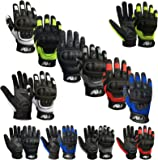 Prime Full Finger Motorbike Motorcycle Sports Riding Mountain Bike Protection Summer Gloves 9001
