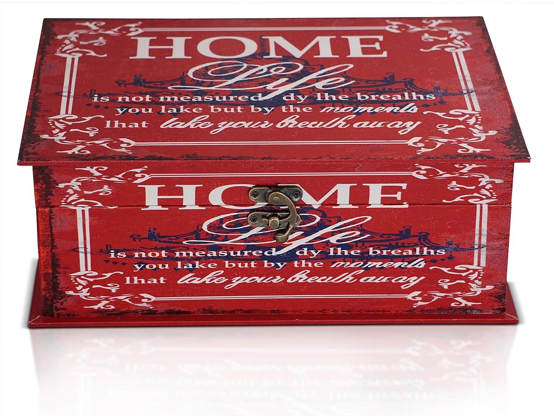 Brynnberg Scrigno del Tesoro Vintage Home 34x24x13cm