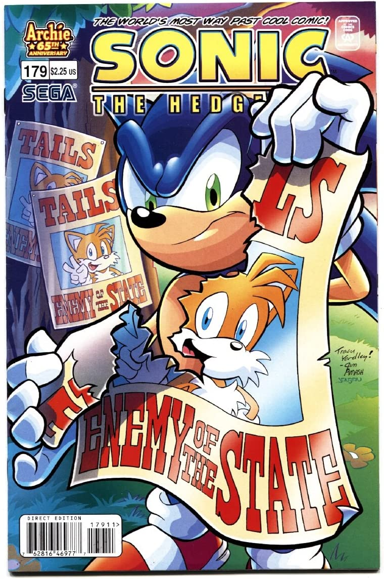 Amazon Com Sonic The Hedgehog 179 2007 Archie Comics Sega Entertainment Collectibles
