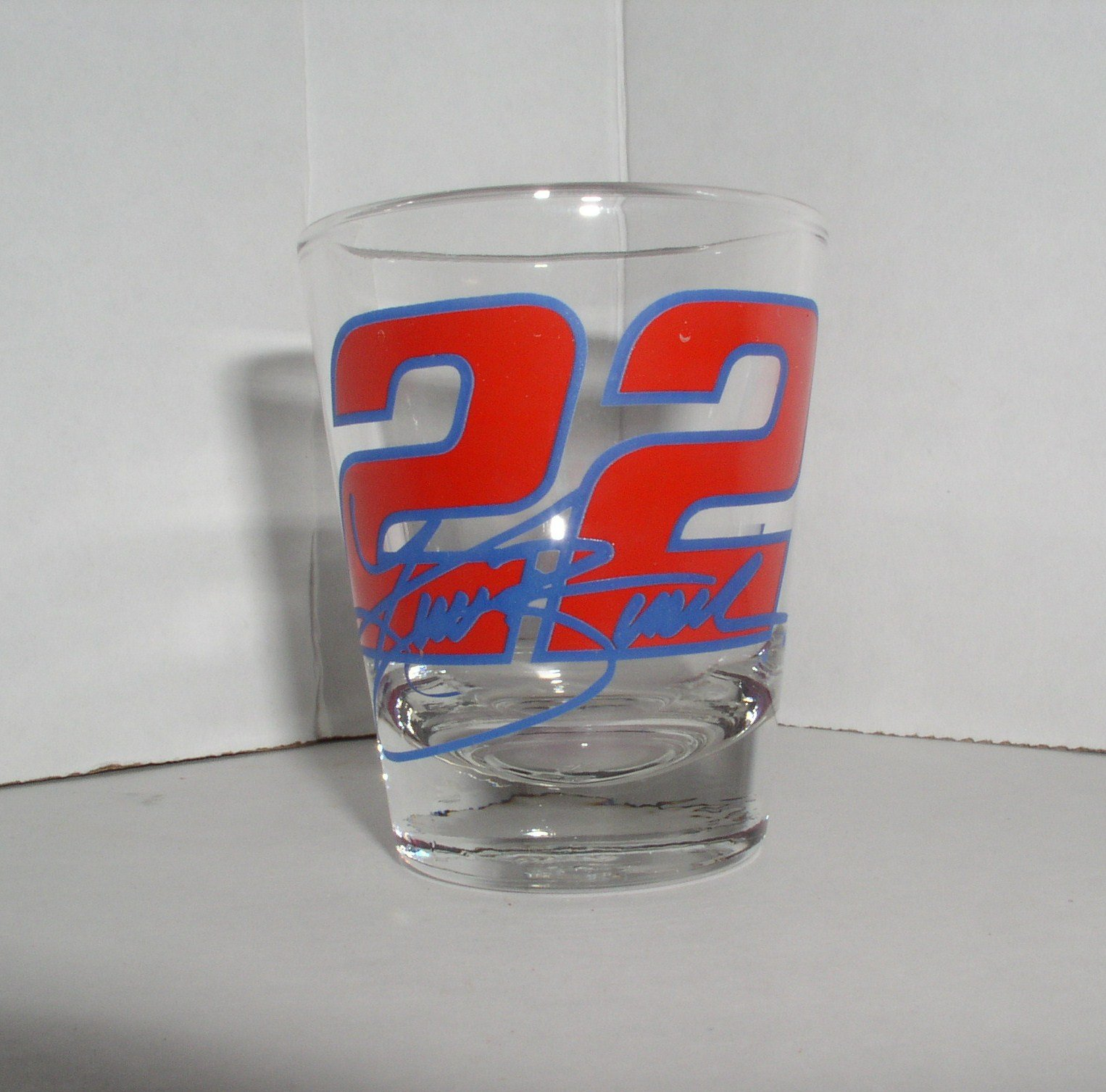 NASCAR #22 ONE OUNCE RED/BLUE