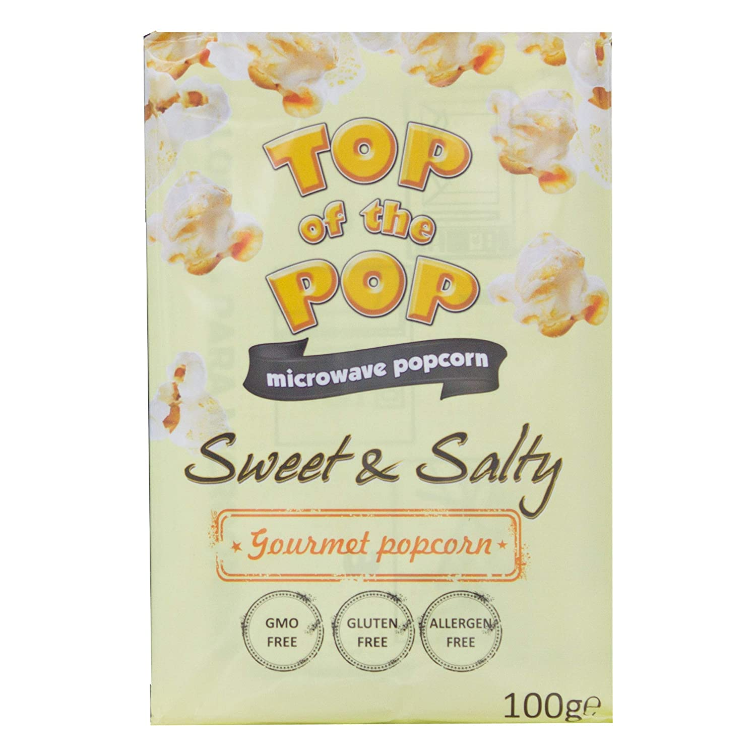 Top of the Pop Microondas palomitas, Sweet & Salty, dulce y salada ...