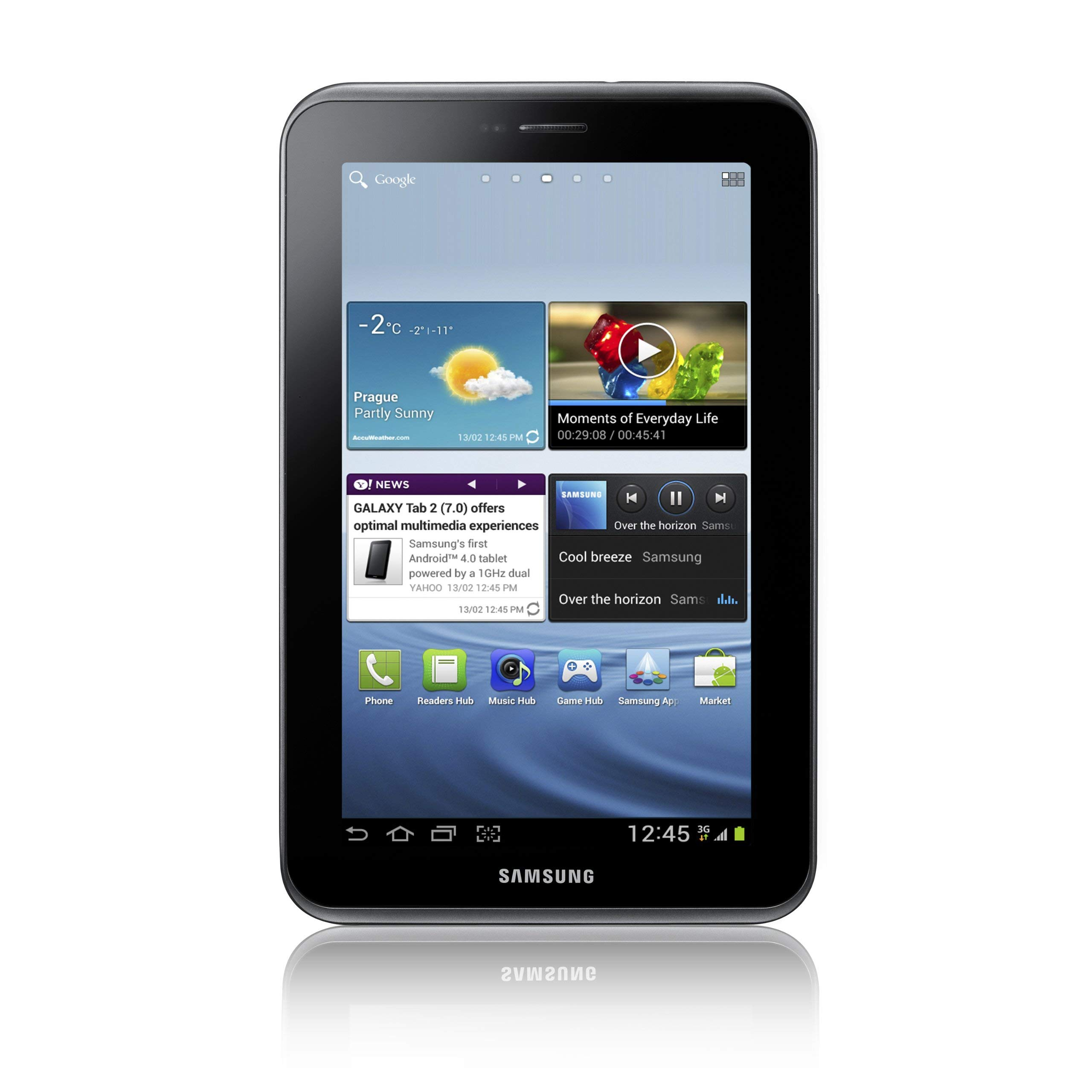 Samsung Galaxy Tab 2 (7-Inch, Wi-Fi) 2012 Model (Certified Refurbished)