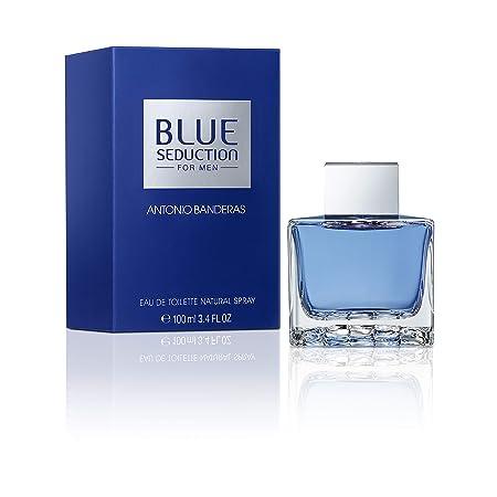 e3a9cb0b66 Antonio Banderas Blue Seduction Eau de Toilette Spray 100 ml  Amazon.co.uk   Beauty