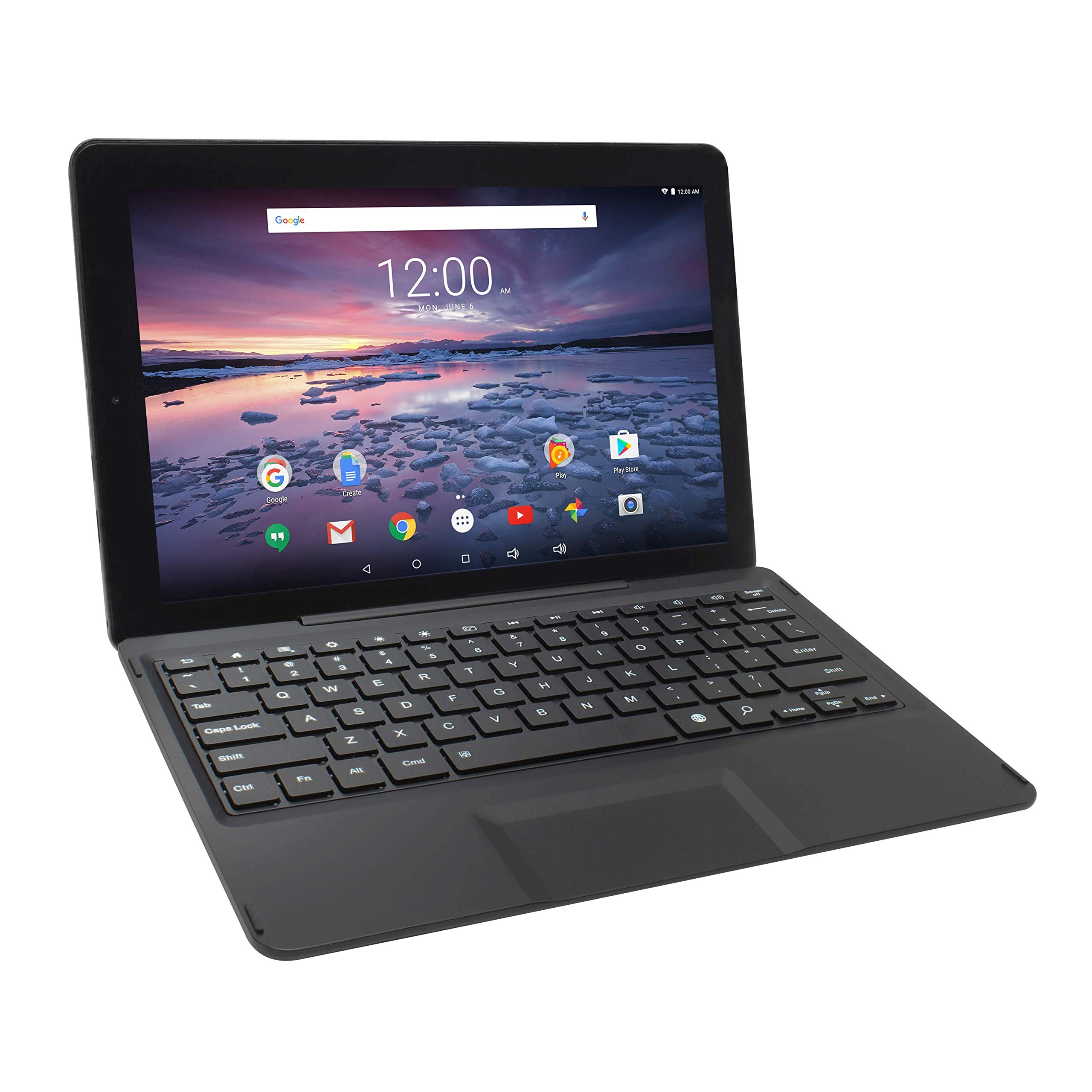RCA 12.2 Inch Android Tablet Quad Core 2G RAM 64G IPS 1920 x 1200 Touchscreen WiFi with Detachable Keyboard