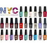 Lot of NYC In A New York Minute Nail Polish Gift Set 10-piece Random Collection No Repeat Colors.
