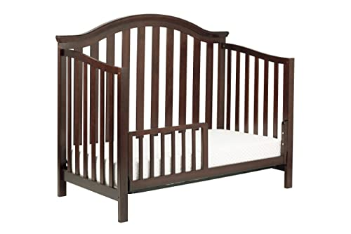 DaVinci Goodwin 4-in-1 Convertible Crib with Toddler Rail, Espresso Discontinued by Manufacturer