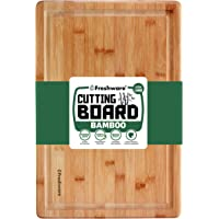 Cutting Board for Kitchen [Bamboo, Extra-Large] Eco-Friendly Wood Cutting Boards for Chopping Meat, Vegetables, Fruits…
