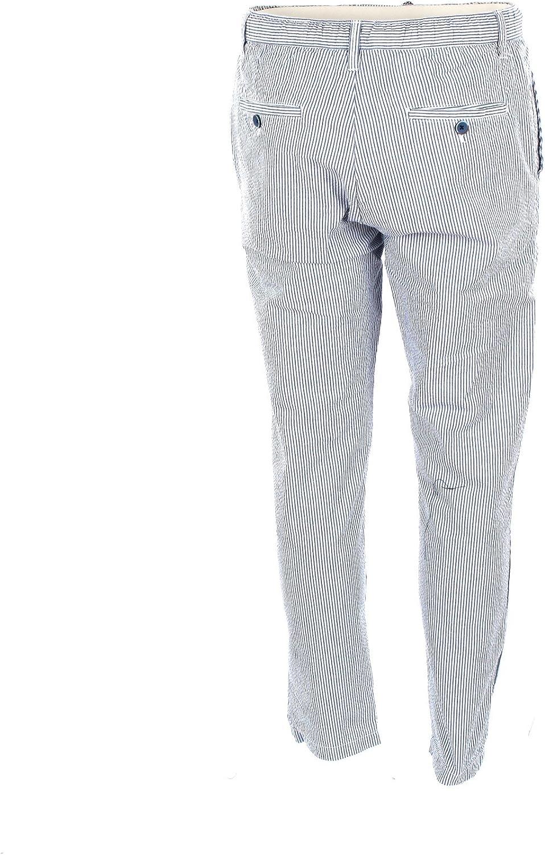 Whoopie Loopie Pantalone Uomo 52 Blu Wm18s119pt Primavera Estate 2018
